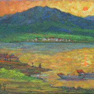 劉洋哲《淡水夕陽》